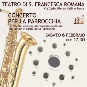 Concerto della Banda Musicale del Divino Amore 6 febbraio 2016