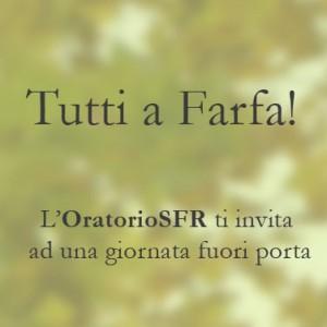 23 ottobre 2016: Prima Gita a Farfa Sabina