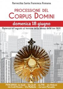 Locandina del Corpus Domini 2017